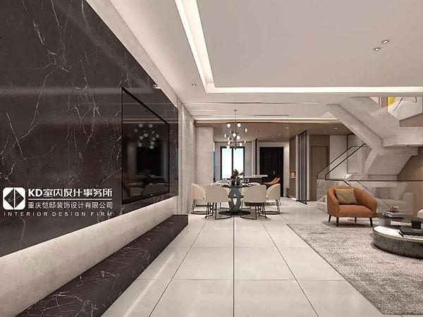东海定南山【第叁套】 大道至简 岁月如歌,KD私宅,重庆别墅装修,KD室内设计事务所