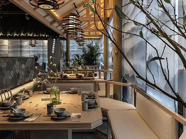 苗厨食忆餐厅 青翠东方,KD商业,重庆别墅装修,KD室内设计事务所