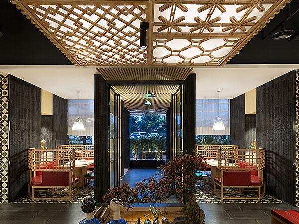 壹宴餐厅 芦苇之约,KD商业,重庆别墅装修,KD室内设计事务所