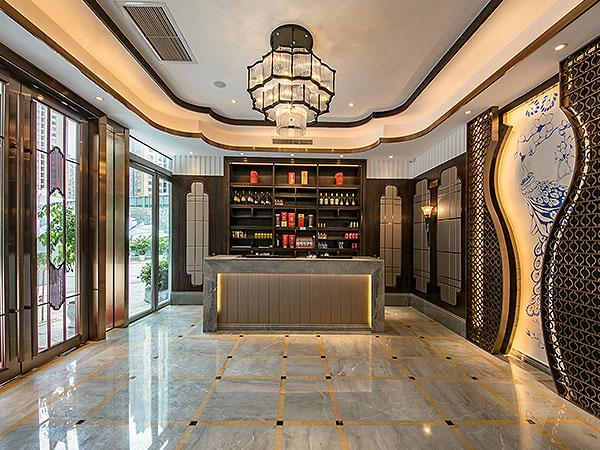 蓉和小馆 繁华都市里的美食秘境,KD商业,重庆别墅装修,KD室内设计事务所