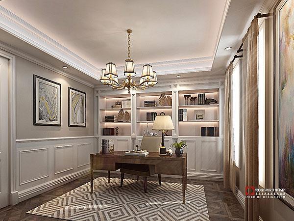 鲁能·领秀城 现代美式,KD私宅,重庆别墅装修,KD室内设计事务所