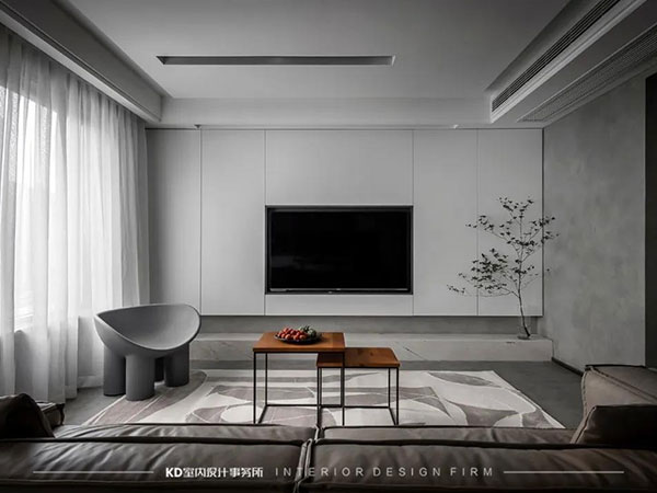 保利观塘·香颂 简约宁静的力量,KD私宅,重庆别墅装修,KD室内设计事务所