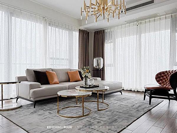 雍江艺庭二手房软装改造 通透满分的轻奢空间,KD软装,重庆别墅装修,KD室内设计事务所